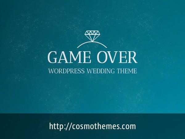 Gameover WordPress gaming theme