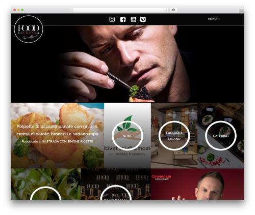 Helium food WordPress theme - foodloft.it