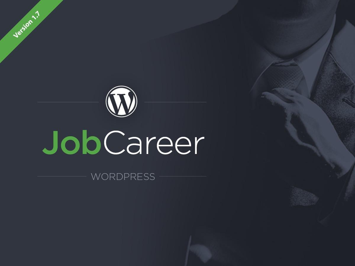 JobCareer top WordPress theme