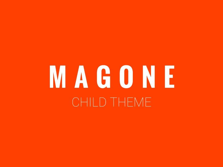 MagOne Child best WordPress theme