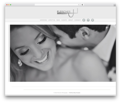 ProPhoto WordPress gallery theme - fleischerphotography.com