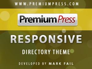 Responsive Directory Theme theme WordPress