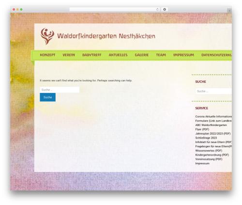 Semicolon theme WordPress free - waldorf-waren.de
