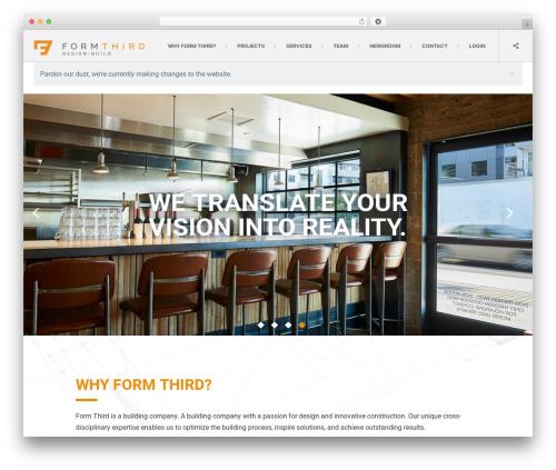 Skadi - Creative Multi-Purpose WordPress Theme best WordPress template - formthird.com