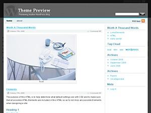 space best WordPress theme