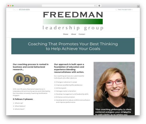 Free WordPress WP Retina 2x plugin - freedmanleadershipgroup.com