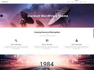 Template WordPress Stardust Child