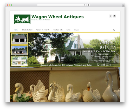 Theme WordPress Catch Base Pro - wagonwheelantiques.us