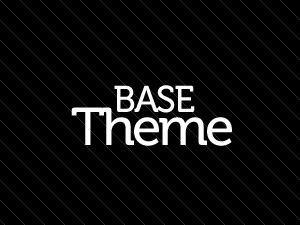 WordPress template Base Theme