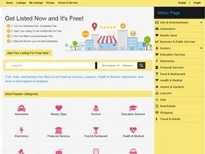 WordPress template Directory Theme