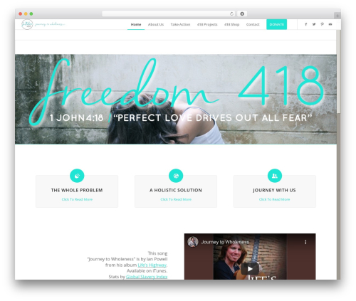WordPress template Enfold - freedom418.org