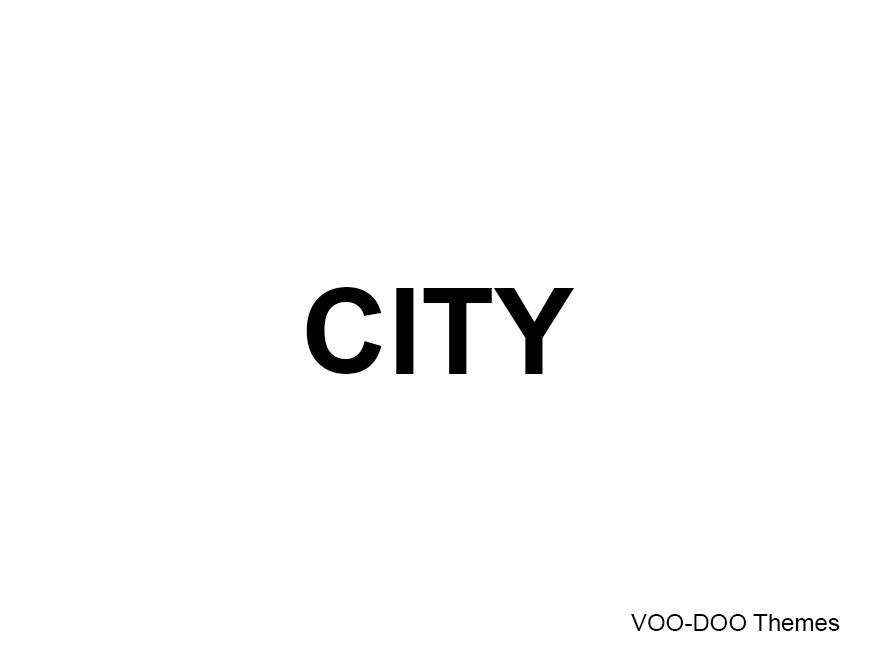 WordPress theme City