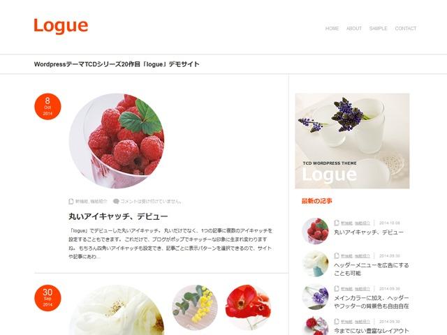 WordPress theme Logue