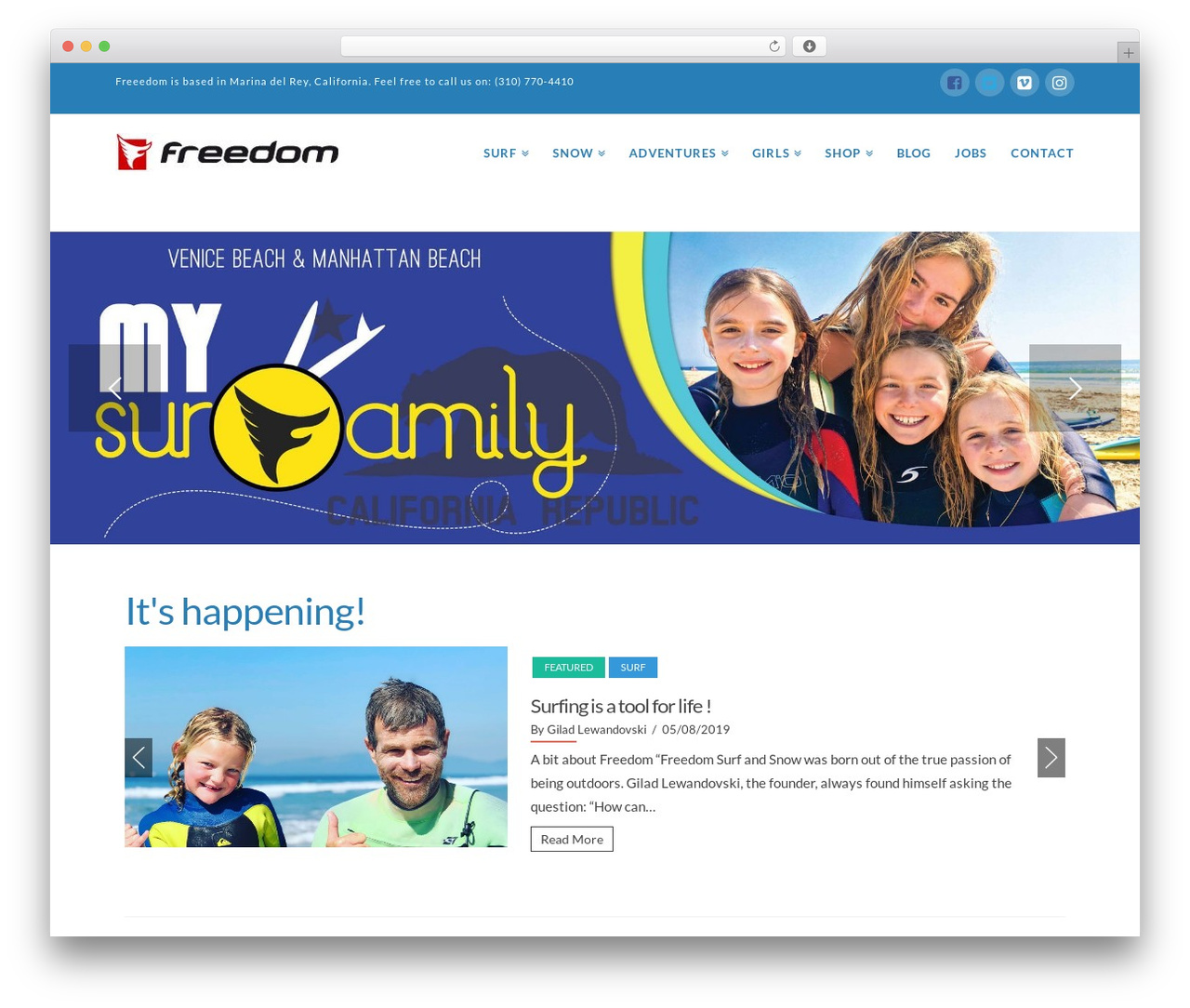 X WordPress theme - freeedom.org