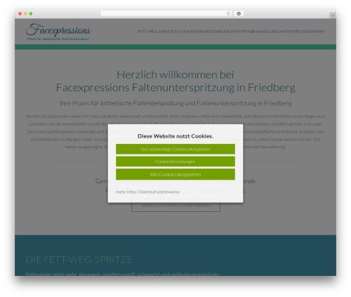Free WordPress Cookie Notice for GDPR plugin - faltenunterspritzung-friedberg.de