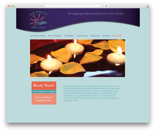 Free WordPress Widgetize Pages Light plugin - balanced-massage.com