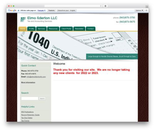 Customized top WordPress theme - elmoildertonllc.com