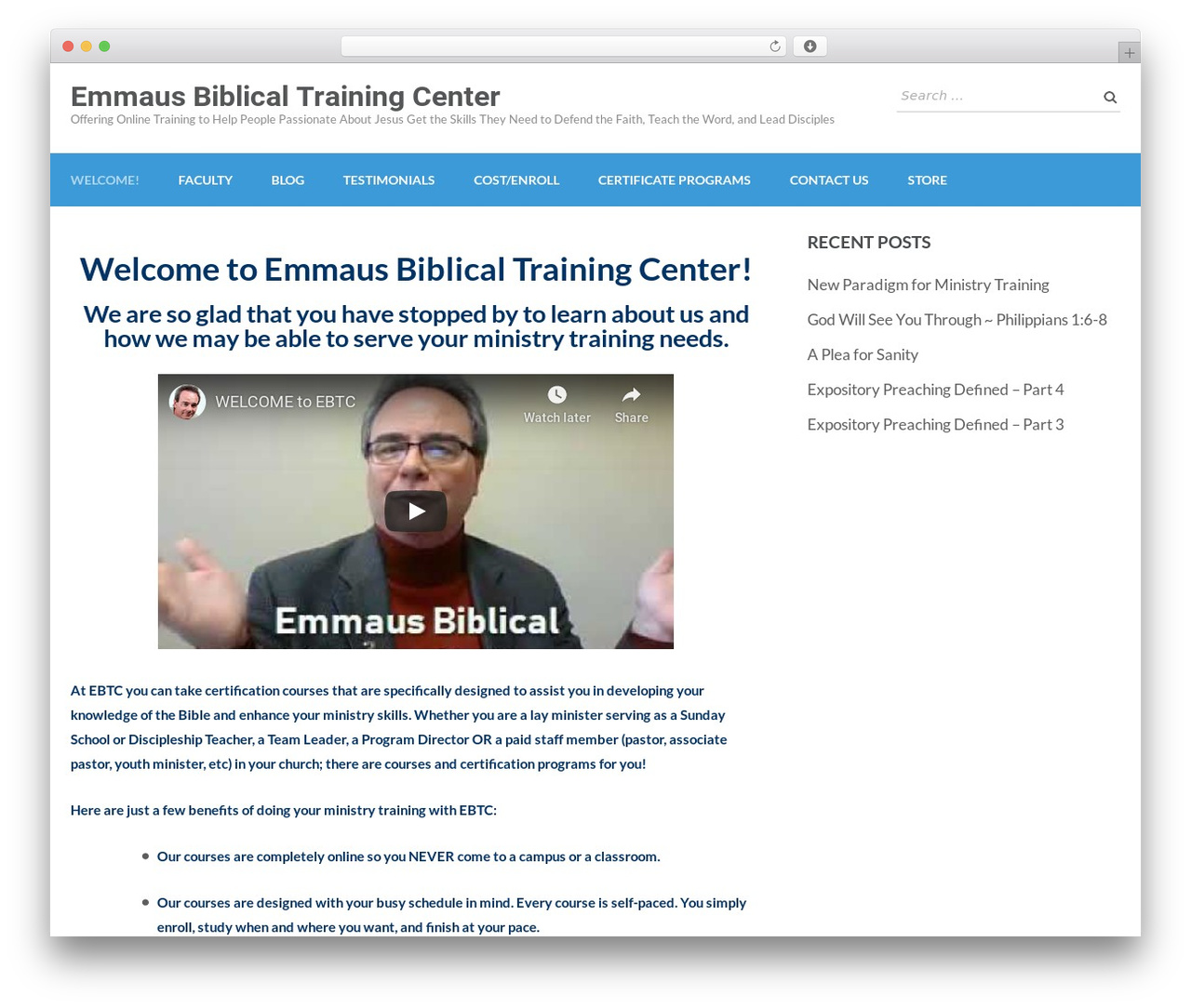 Education Zone WordPress template free download - emmausbiblicaltrainingcenter.com