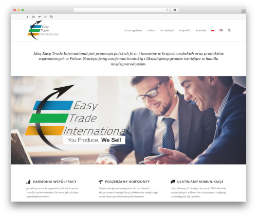 Free WordPress Polylang plugin - easytradeinternational.com/stronaglowna