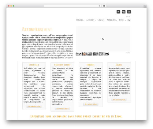 Prestige Ultimate Wordpress Theme WordPress theme design - exportasie.com