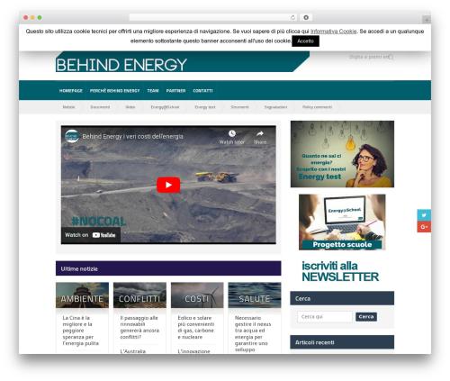 Quadrum Theme theme WordPress - behindenergy.com