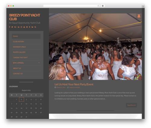Storto free WordPress theme - breezypointyachtclub.org