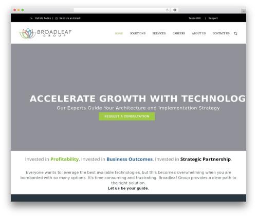 Theme WordPress ArkaHost - broadleafgroup.com