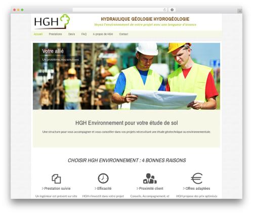 Twenty Thirteen best free WordPress theme - hgh-environnement.com