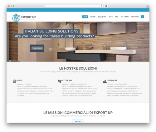 WordPress template System - exportup.it