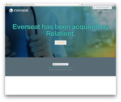 WordPress theme Construction - everseat.com