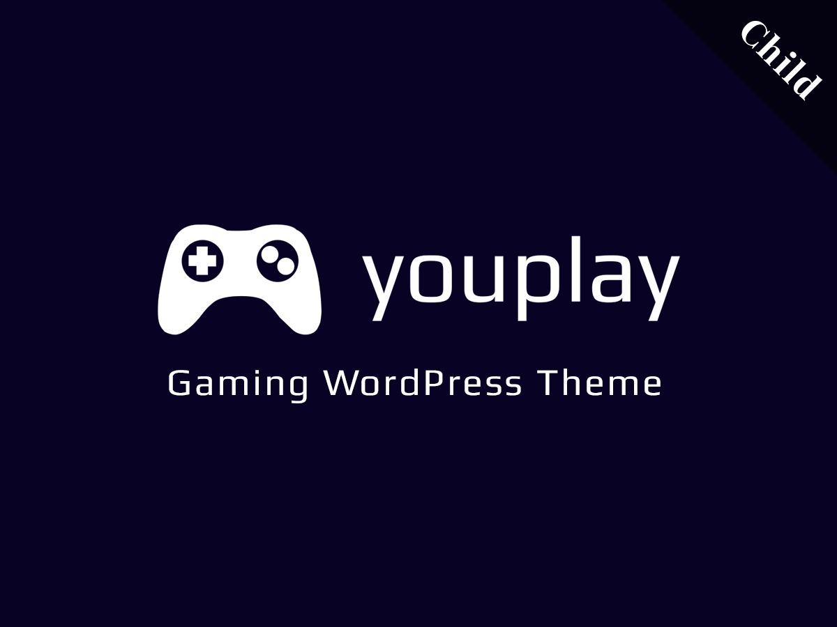 WordPress theme Youplay Child