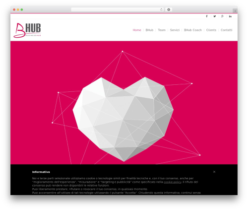 WP Yamato business WordPress theme - bhub.it