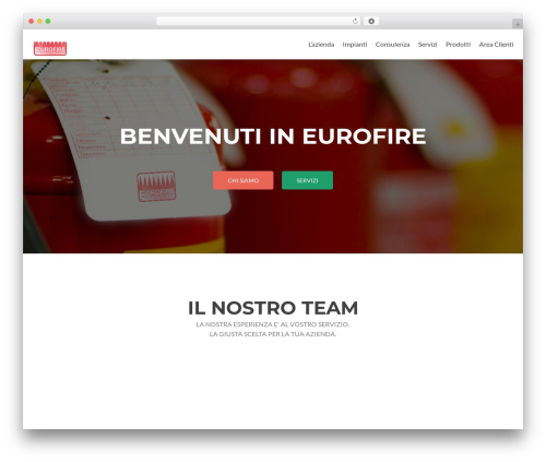Zerif Lite free WordPress theme - eurofire.it