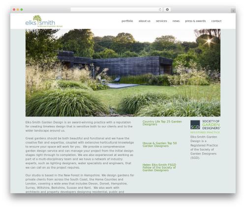 Avada landscaping WordPress theme - elks-smith.co.uk