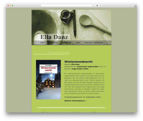 childtwentytwelve theme WordPress - elladanz.de