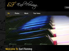 earlfleming WordPress website template