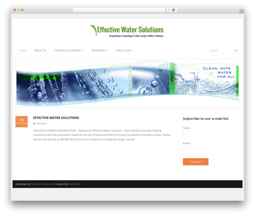 Free WordPress Page navi slider plugin - effectivewatersolutions.com