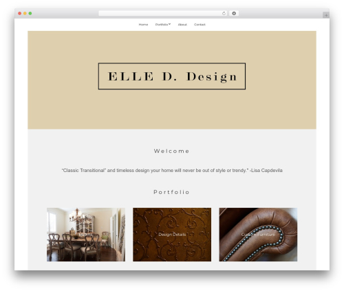 True North WordPress theme - elleddesign.com