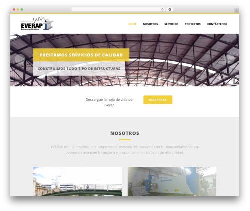 Bridge WordPress theme - everap.com