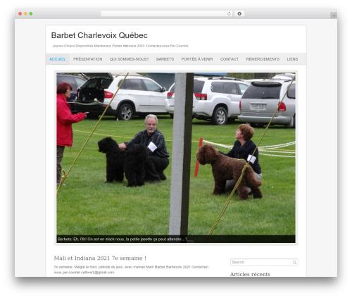 Fresh And Clean best WordPress theme - elevage-barbet-charlevoix.com