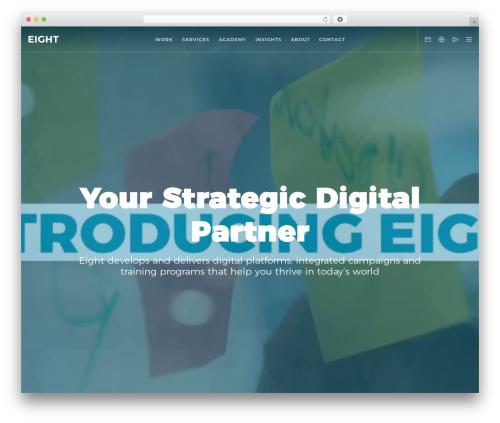 Movedo WordPress theme design - eighthub.com