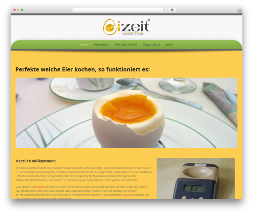 Preferential Lite best free WordPress theme - eizeit.at
