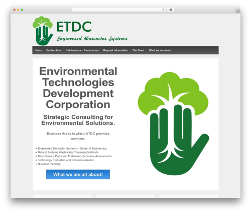 Template WordPress Responsive - etdc.org