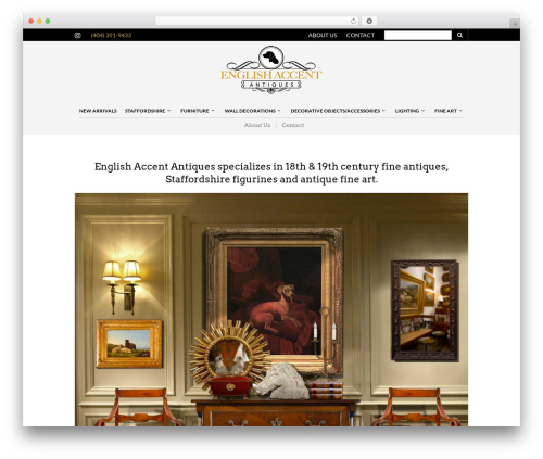 The Retailer top WordPress theme - englishaccentantiques.com