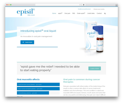 WordPress theme Avada - episil.net
