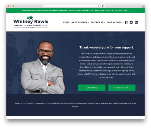 WordPress x-email-mailchimp plugin - electwhitneyrawls.com
