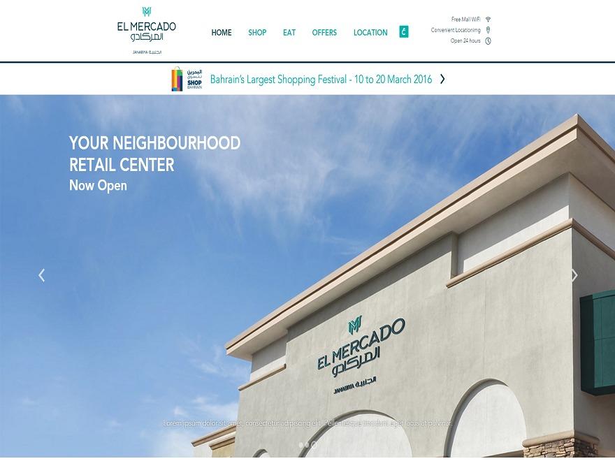 WordPress theme ElMercado