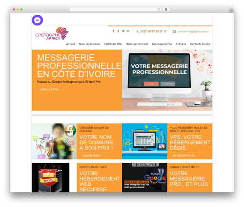 Free WordPress JQuery Slick Menu Widget plugin - epistrophe.ci