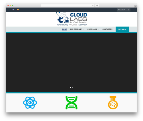 Extra WordPress page template - etechcloudlabs.com