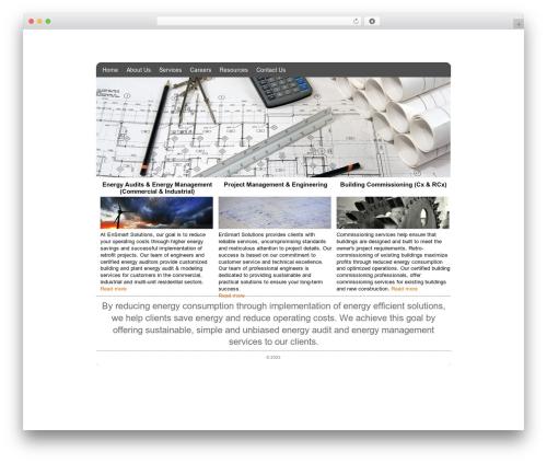 Revival WordPress website template - ensmartsolutions.com